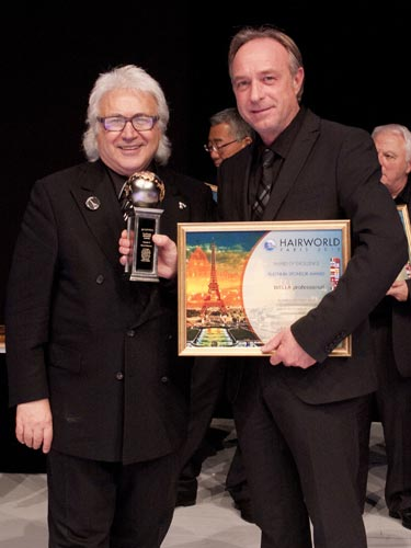 Alexander herzberg is the businessman of the year for P g salon professional